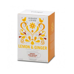 Lemon & Ginger Tea by Higher Living