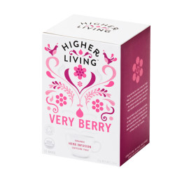 Very Berry Organic Tea by Higher Living