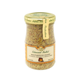 Old Fashion Mustard Grain 205g by Edmond Fallot